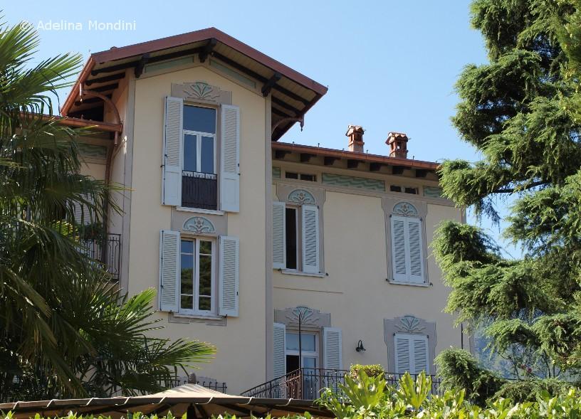 Decorazione dipinta: cornici finestre e sottogronda
