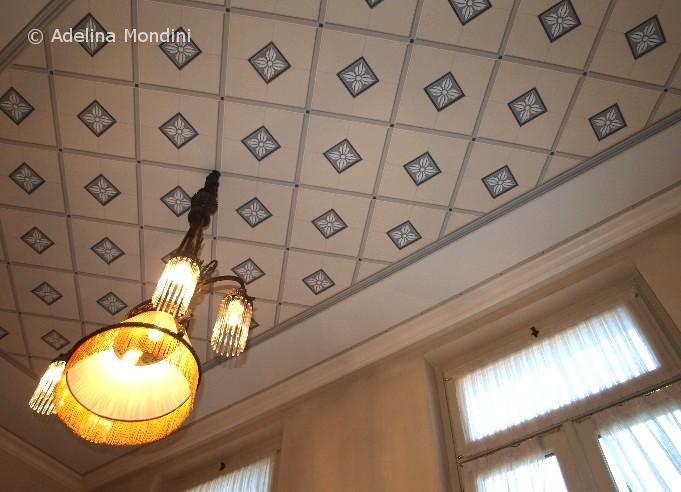 Decorazione pittorica soffitto