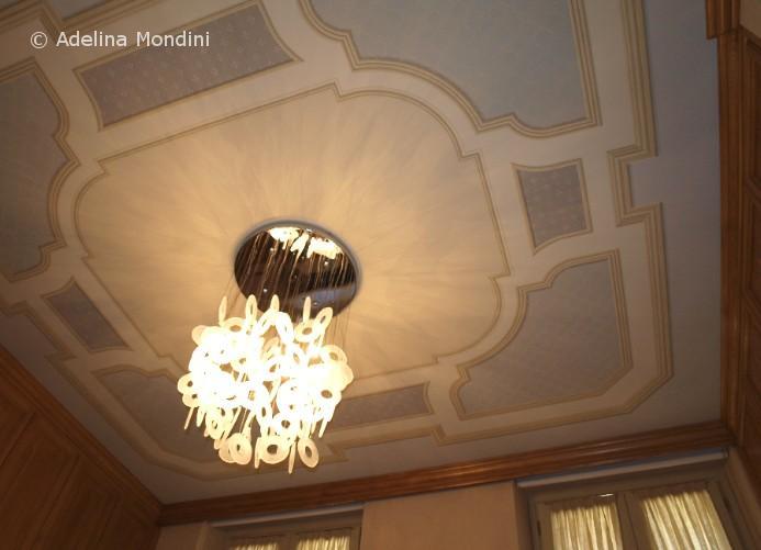 Soffitto con decorazioni dipinte