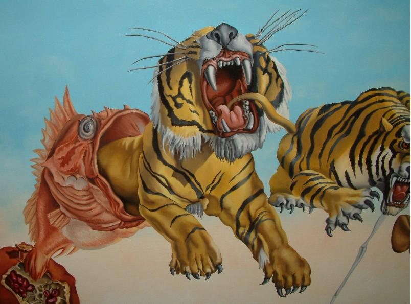 Dipinto ad olio su tela