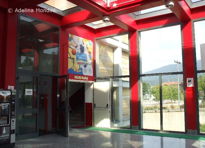 Decorazione Palazzetto Cus Brescia